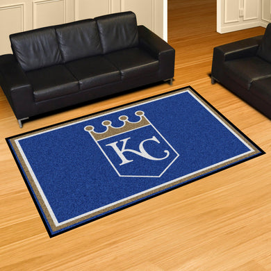 Kansas City Royals Plush Rug - 5'x8'