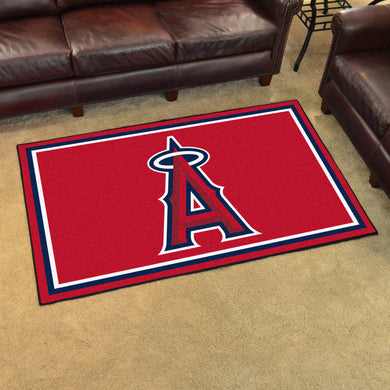 Los Angeles Angels Plush Rug - 4'x6'
