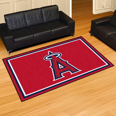 Los Angeles Angels Plush Rug - 5'x8'