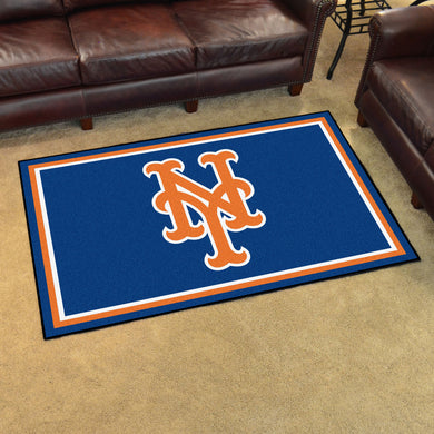 New York Mets Plush Rug - 4'x6'