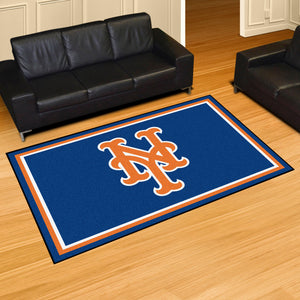 New York Mets Plush Rug - 5'x8'
