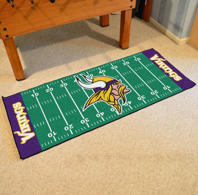 Minnesota Vikings Football Field Runner