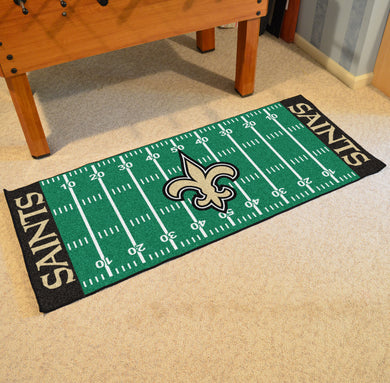 New Orleans Saints Football Field Runner