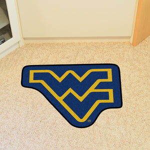 wvu football, wvu basketball, wvu rug, wvu mat