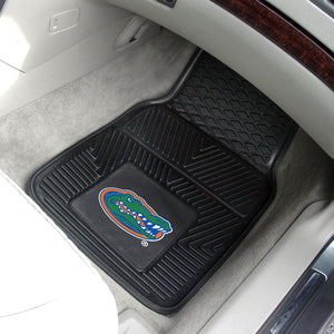 "Florida Gators 2 Piece Vinyl Car Mats - 18""x27"""