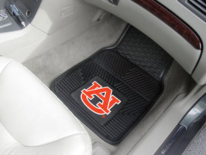 "Auburn Tigers 2 Piece Vinyl Car Mats - 18""x27"""