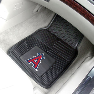 Los Angeles Angels 2-pc Vinyl Car Mat Set - 18x27