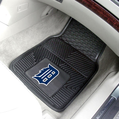 Detroit Tigers 2-pc Vinyl Car Mat Set - 18x27