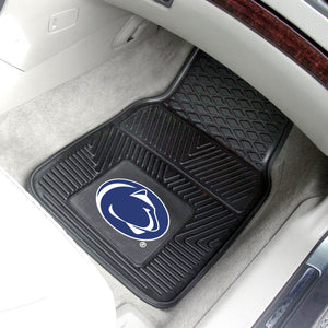 "Penn State Nittany Lions 2 Piece Vinyl Car Mats - 18""x27"""