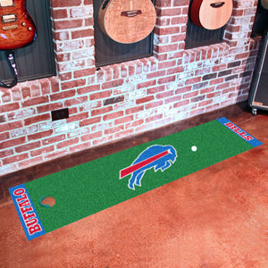 "Buffalo Bills Putting Green Runner 18""x72"""