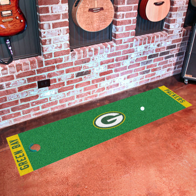 Green Bay Packers Putting Green Runner 18