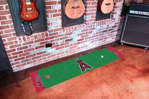 "Los Angeles Angels Putting Green Runner 18""x72"""