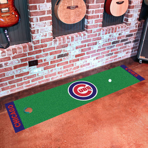 "Chicago Cubs Putting Green Runner 18""x72"""