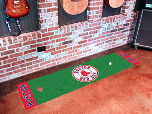 "Boston Red Sox Putting Green Runner 18""x72"""