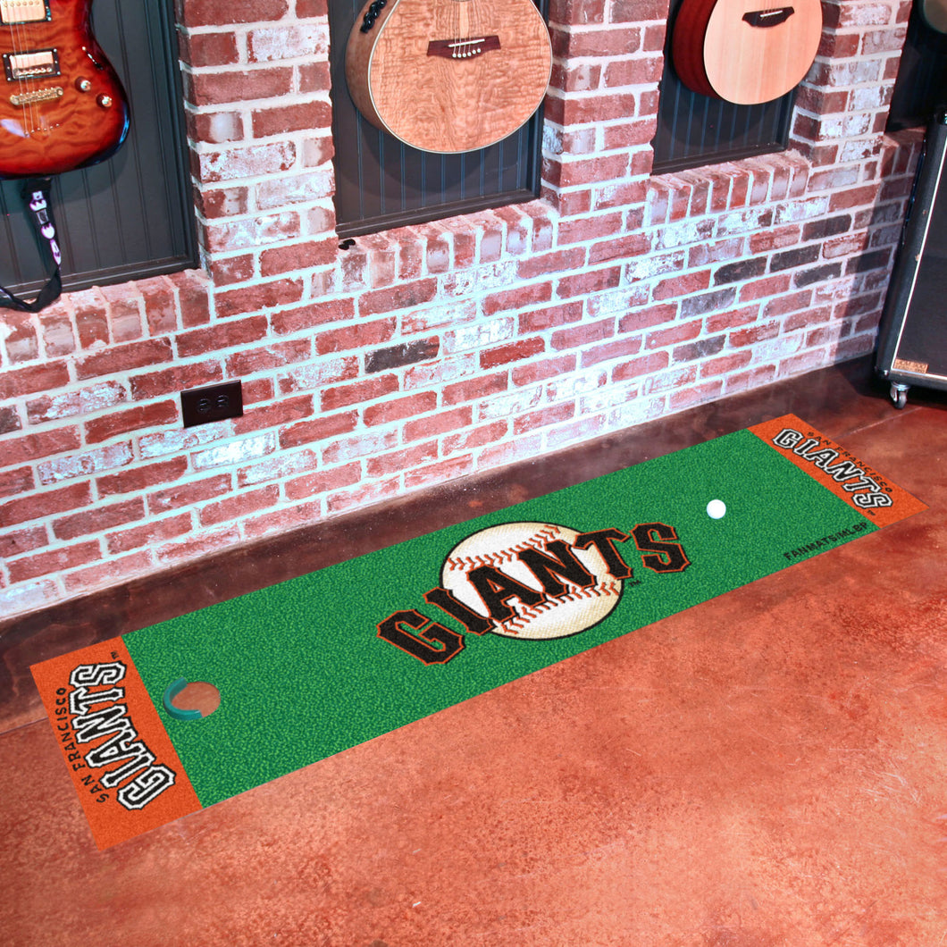San Francisco Giants Putting Green Runner 18