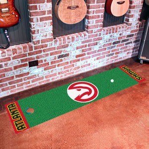 "Atlanta Hawks Putting Green Runner 18""x72"""