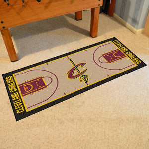 "Cleveland Cavaliers Large Basketball Court Runner - 29.5""x54"""