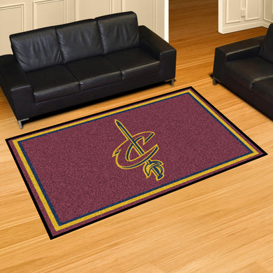 Cleveland Cavaliers Plush Rug - 5'x8'