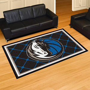 Dallas Mavericks Plush Rug - 5'x8'