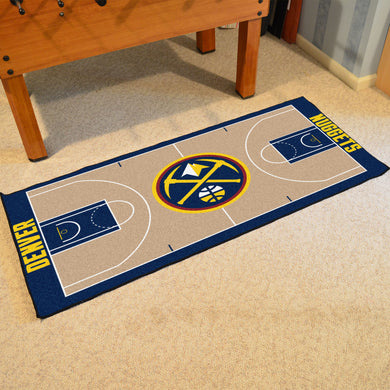 Denver Nuggets Large Basketball Court Runner - 29.5