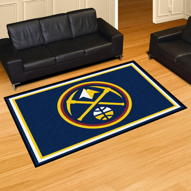 Denver Nuggets Plush Rug - 5'x8'