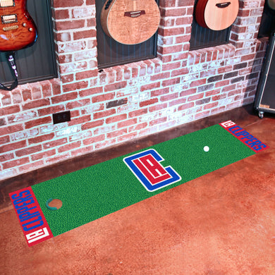 Los Angeles Clippers Putting Green Runner 18