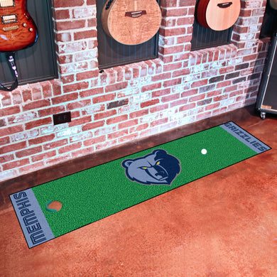 Memphis Grizzlies Putting Green Runner 18