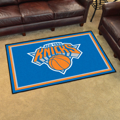 New York Knicks Plush Rug - 5'x8'