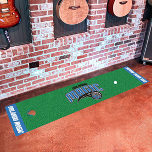 "Orlando Magic Putting Green Runner 18""x72"""