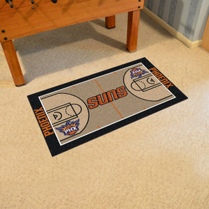 "Phoenix Suns Large Basketball Court Runner - 29.5""x54"""