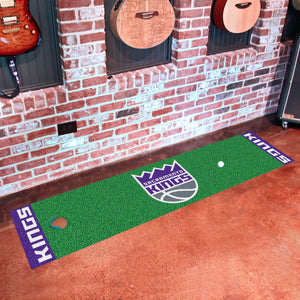 "Sacramento Kings Putting Green Runner 18""x72"""
