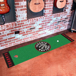 "Toronto Raptors Putting Green Runner 18""x72"""