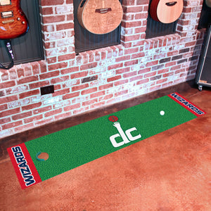 "Washington Wizards Putting Green Runner 18""x72"""