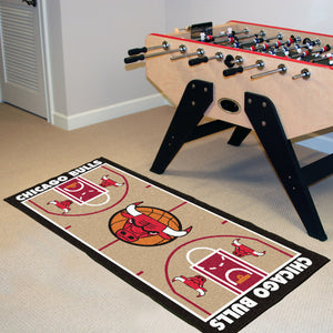 "Chicago Bulls Baseketball Court Runner - 24""x44"""