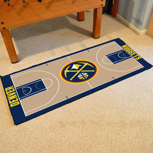 "Denver Nuggets Baseketball Court Runner - 24""x44"""
