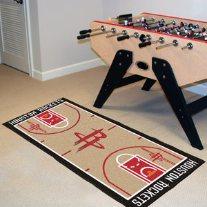 "Houston Rockets Baseketball Court Runner - 24""x44"""