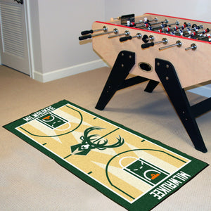 "Milwaukee Bucks Baseketball Court Runner - 24""x44"""