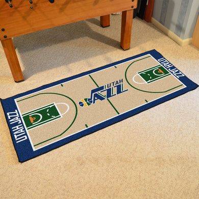 Utah Jazz Baseketball Court Runner - 24
