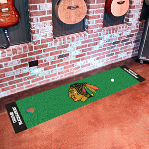"Chicago Blackhawks Putting Green Runner 18""x72"""
