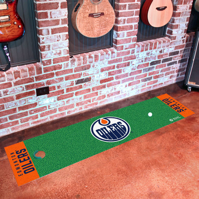 Edmonton Oilers Putting Green Runner 18