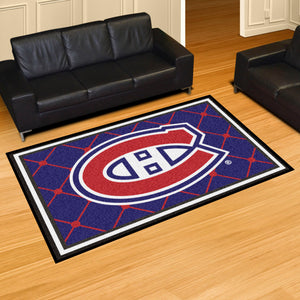 Montreal Canadiens Plush Rug - 5'x8'