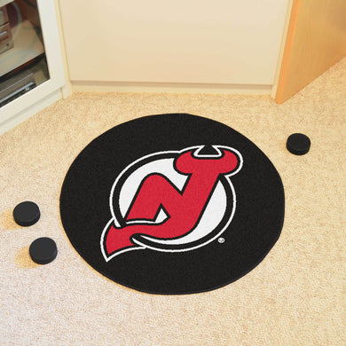 New Jersey Devils Hockey Puck Rug - 27