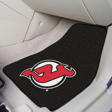 New Jersey Devils  2-Piece Carpet Car Mats - 18