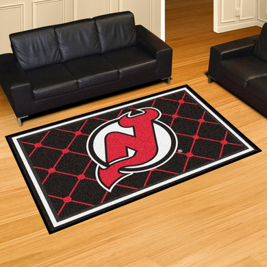 New Jersey Devils Plush Rug - 5'x8'