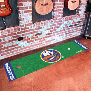 "New York Islanders Putting Green Runner 18""x72"""