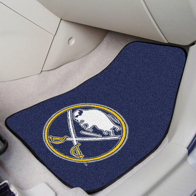 Buffalo Sabres 2-Piece Carpet Car Mats - 18