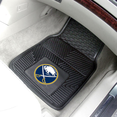 Buffalo Sabres 2-Piece Vinyl Car Mats - 18