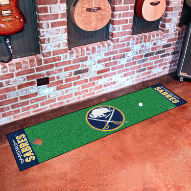 Buffalo Sabres Putting Green Runner 18