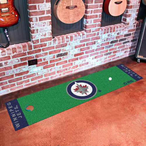 Winnipeg Jets  Putting Green Runner 18