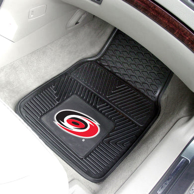 Carolina Hurricanes 2-Piece Vinyl Car Mats - 18